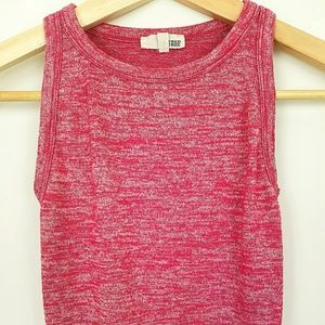 Wilfred by Aritzia Pink Cropped Tank Top